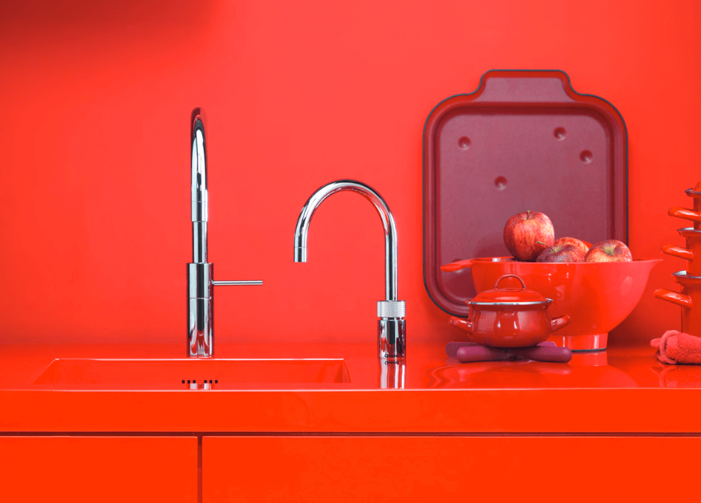 Kitchen Sink Hot Point Filtered Water